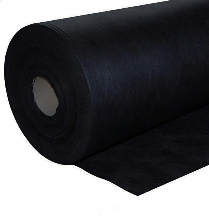 AGROOMSANINE 160 cm 100 gr / m2 čierny tuk a silný