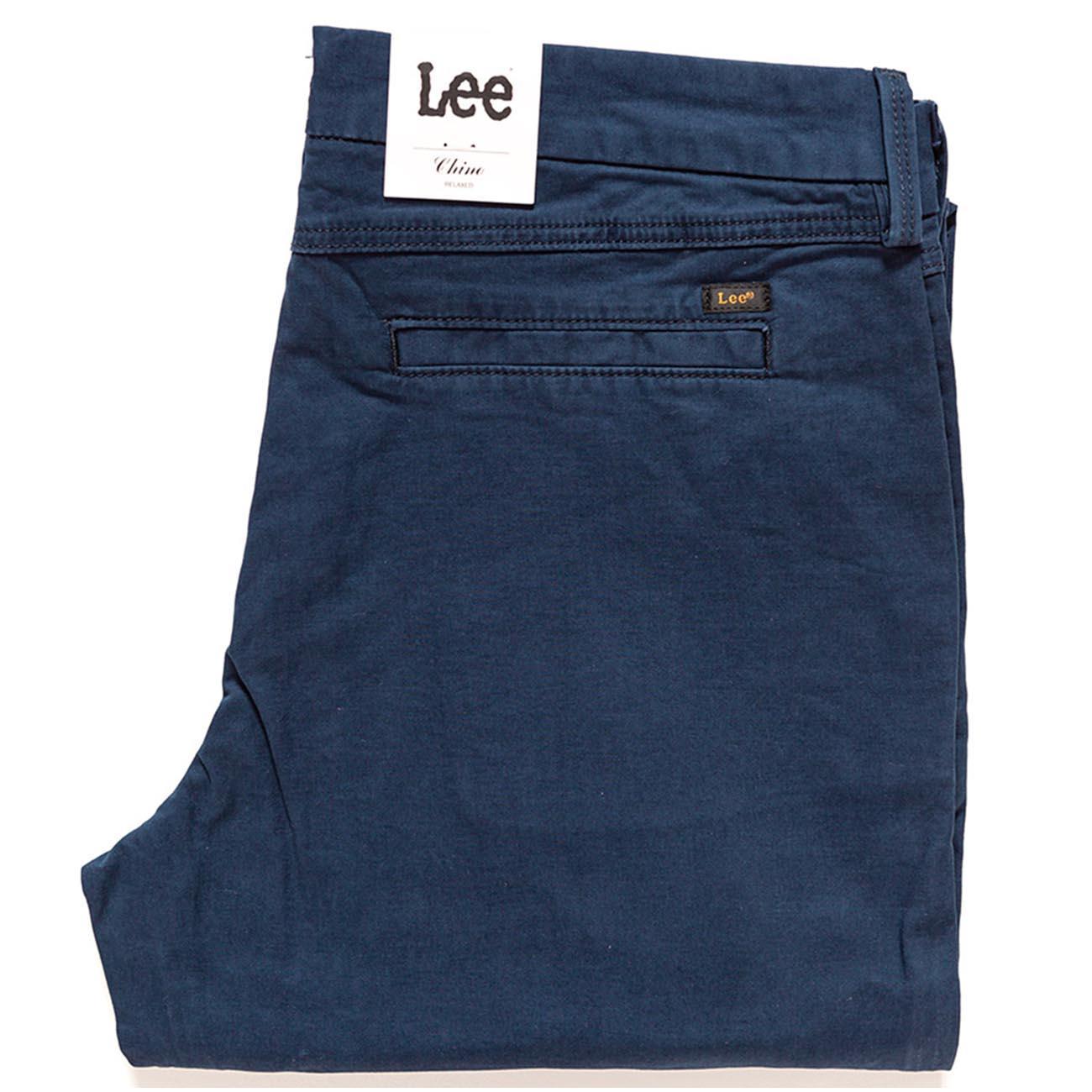 Lee Chino Spodnie Materiałowe Damskie 7/8 W28 L33