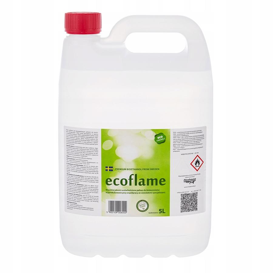 Ecoflame 5L Биотопливо 2-го поколения. Биокамин