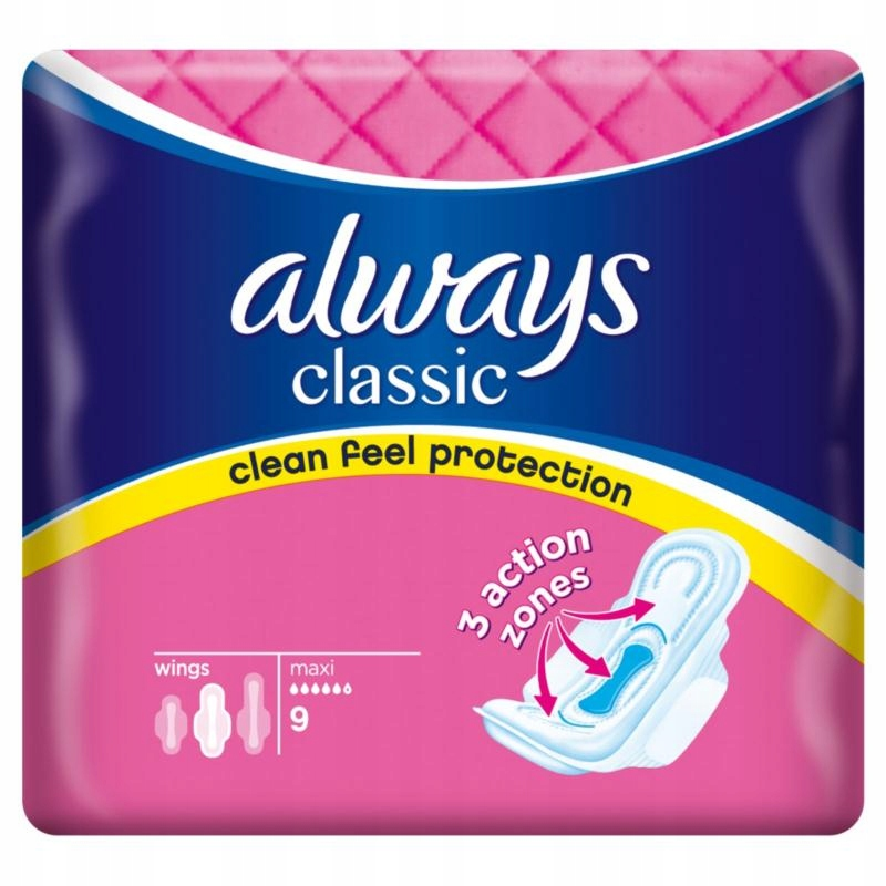 Гигиенические прокладки Always classic A9 maxi крылышки