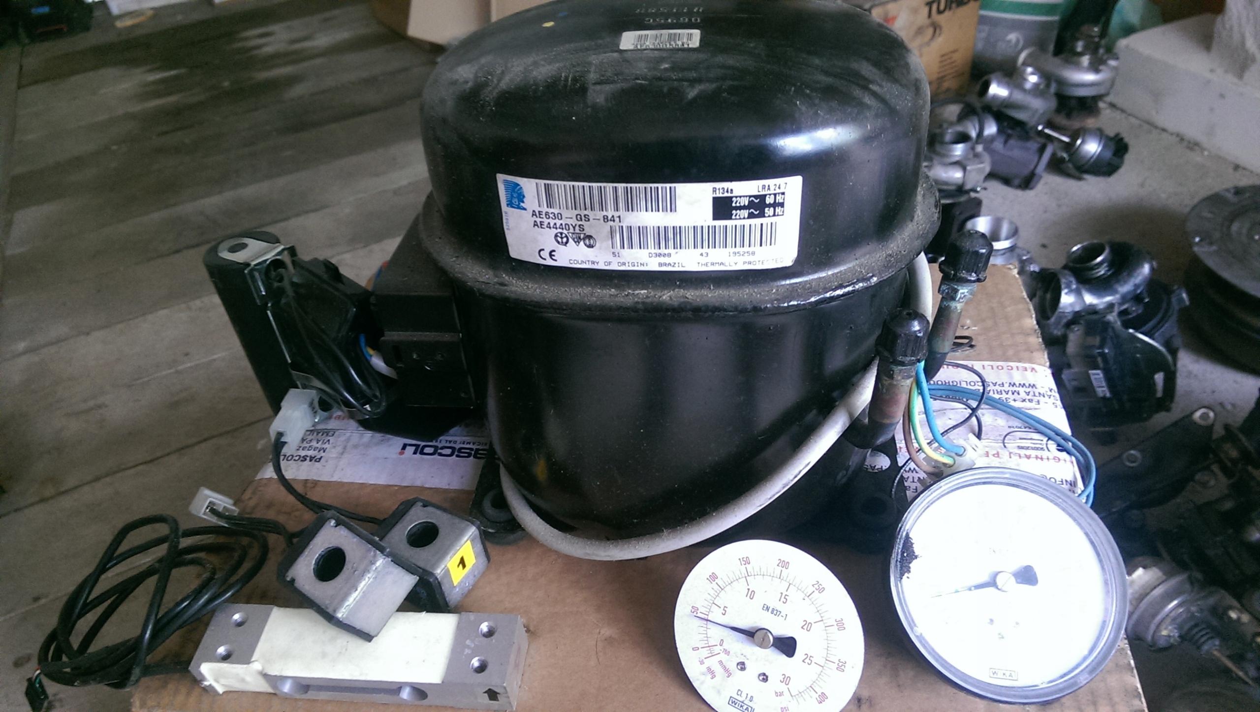 компрессор компрессор холодильник 24v iveco man scania