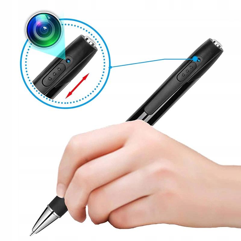 Długopis ukryta MINI KAMERA Full HD dyktafon FHD EAN 5902659173867