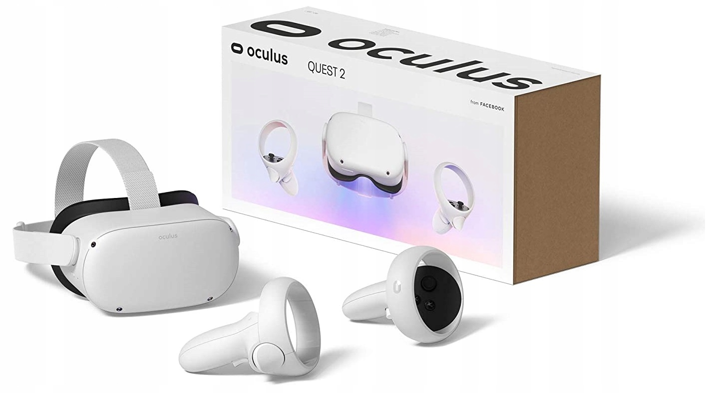 Gogle VR Oculus Quest 2 64 GB i 2 kontrolery