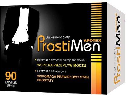 ProstiMen 90 kapsułek wspiera działanie prostaty