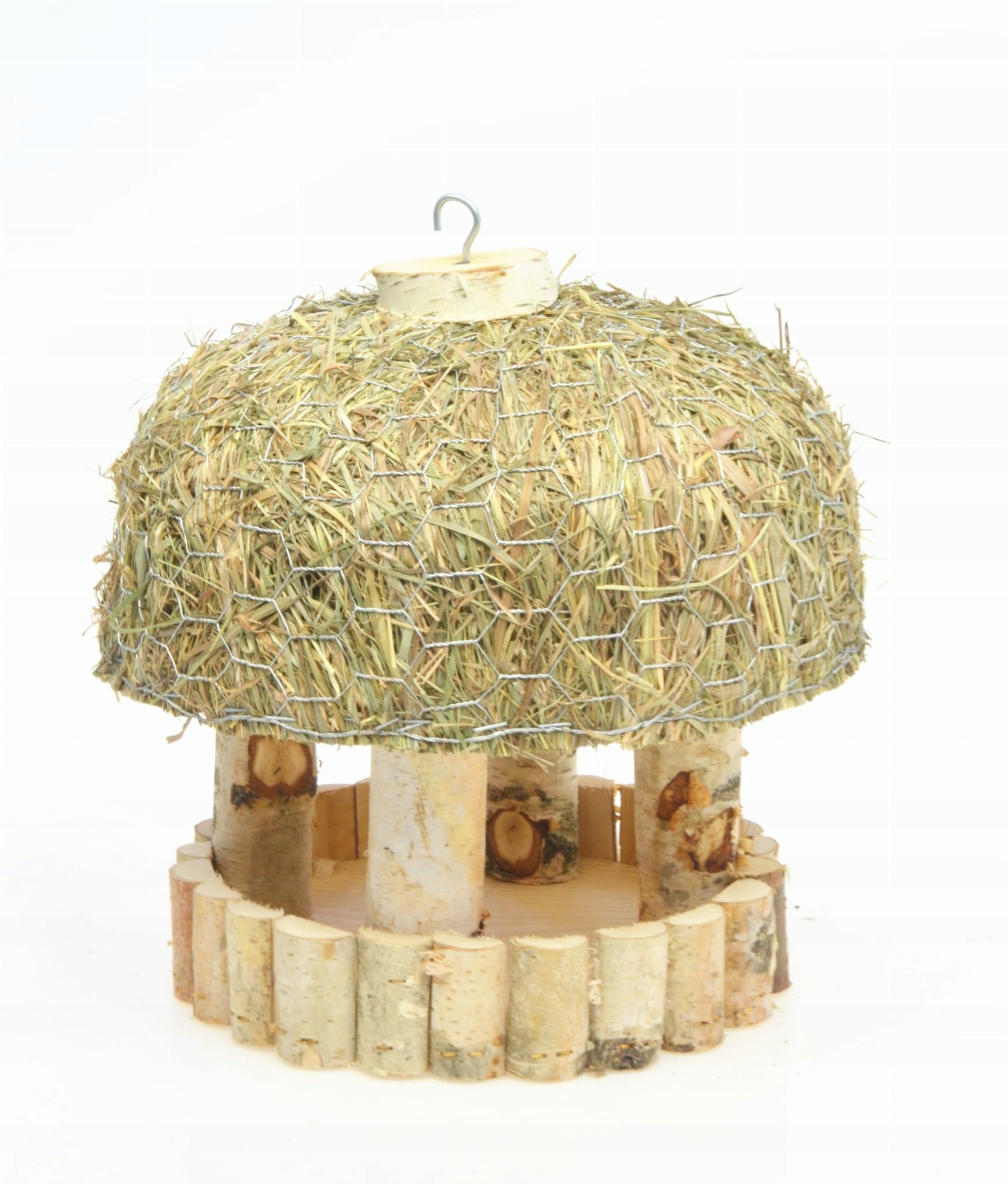 Кормушка для птиц, сарай, домик, дрова К100