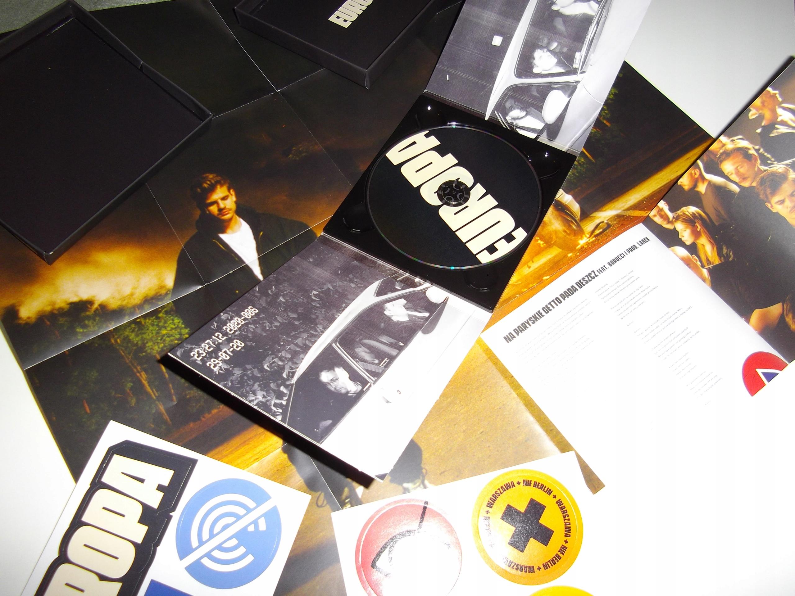 Taco Hemingway Europa Cd Box Limited Plakat Wlepki 9676502667 Allegro Pl