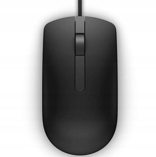 DELL USB kablet optisk mus svart MS116