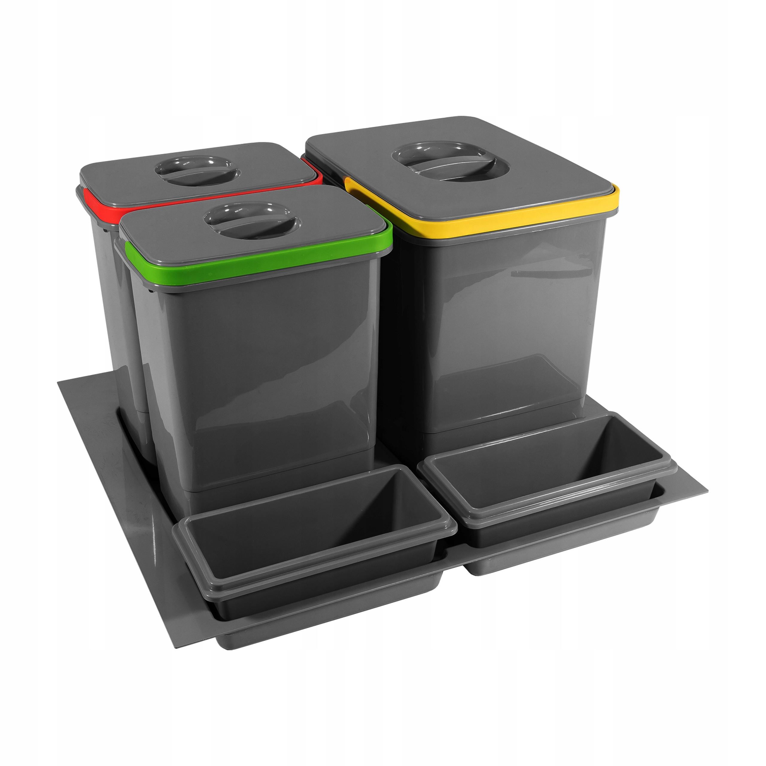 Корзина Связыватель для мусора 60 1x15L, 2x7 Л MULTINO