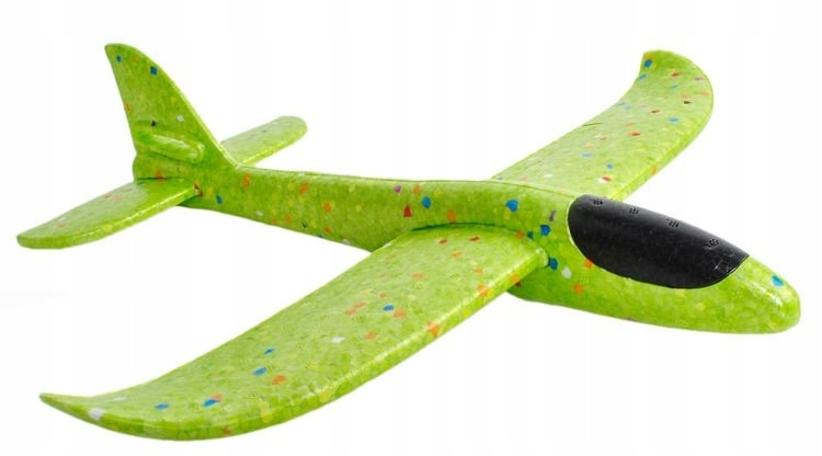 Samolot Styropianowy Szybowiec Rzutka Styropianu