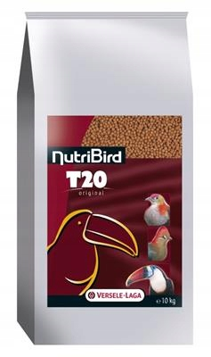 T20 10 kg Nutribird pelety pre tukanów