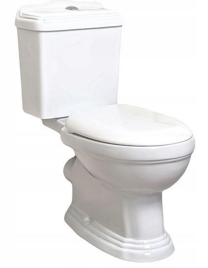 Kompaktné WC Retro / KR 13 KERRA so sedadlom