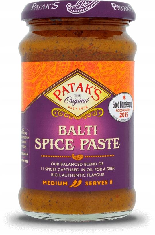 Patak's Pasta Balti średnio ostra z kminem papryką