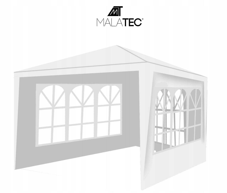 Komerčný stan Záhradný pavilón + 3 steny 3x3m výrobca Malatec