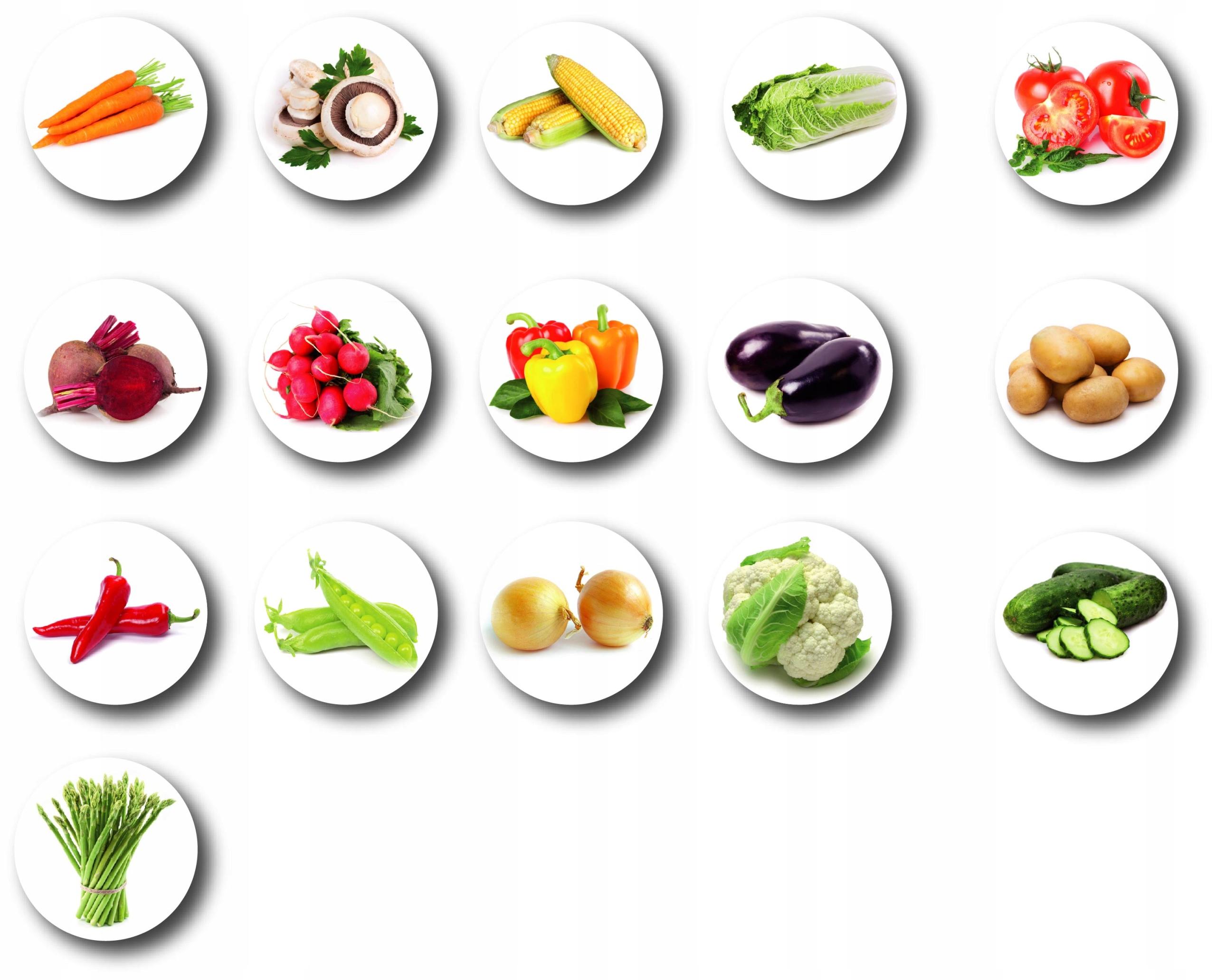 Chladnička Magnety Zelenina - Magnet Zelenina 16 S