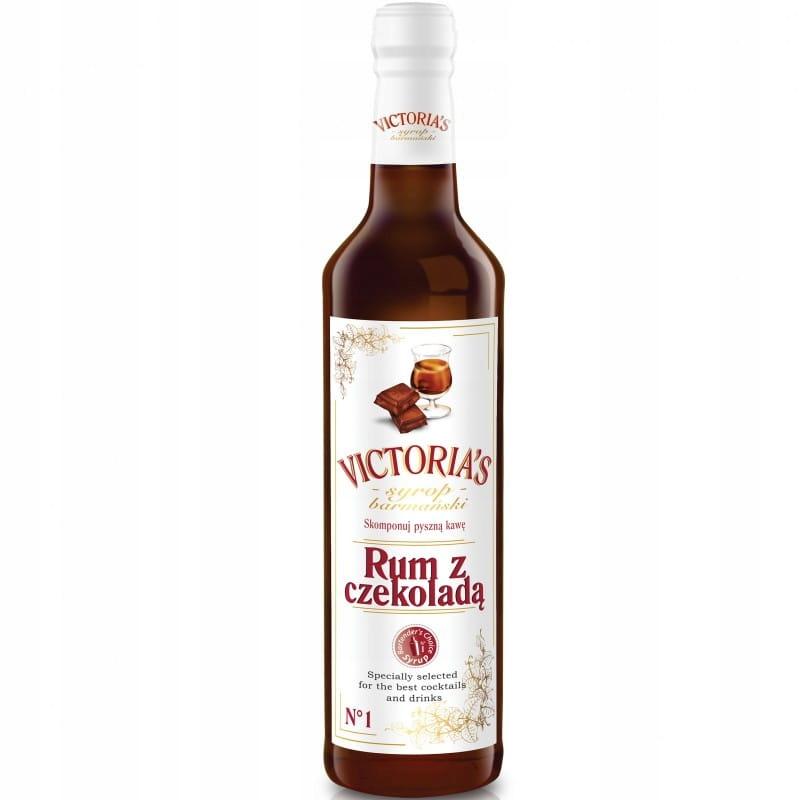 VICTORIA'S Rum Bartender сироп с шоколадом 490мл