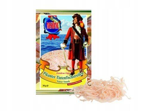 Острый кальмар, сушеные пивные полоски, закуска