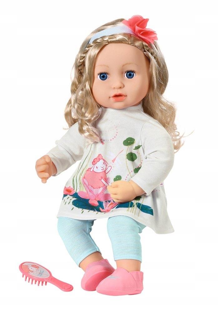 BABY ANNABELL Bábika Sophia 43 SOFT cm DLHÉ VLASY
