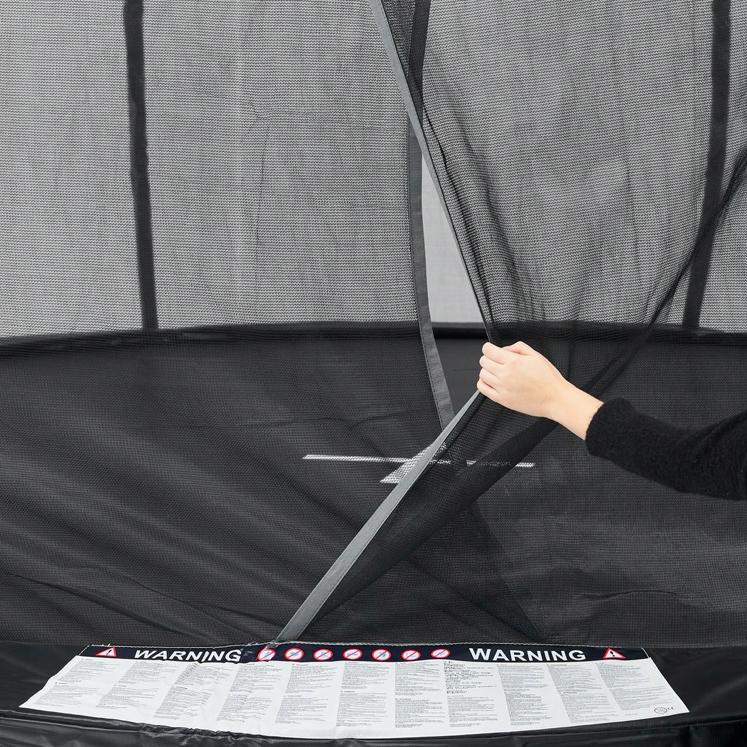 Trampolina z siatką wewn 305 dla dzieci dorosłych Marka inna