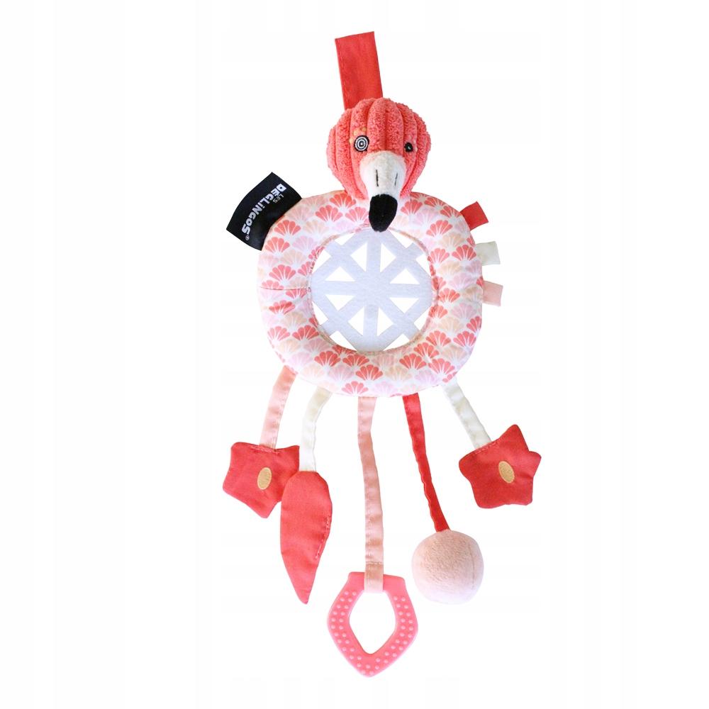 Detská smyslová hračka Flamingo