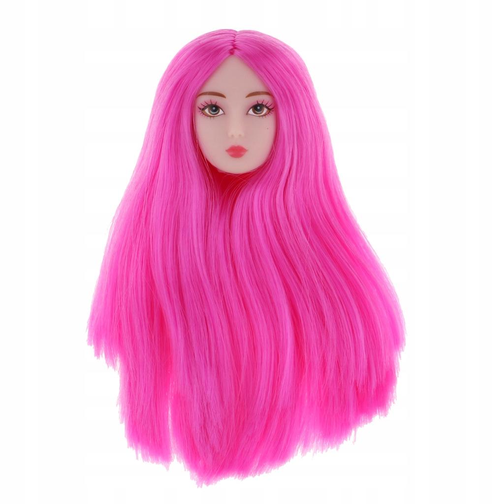 Купить Парик с резной головкой для куклы с красной розой на Otpravka - цены и фото - доставка из Польши и стран Европы в Украину.
