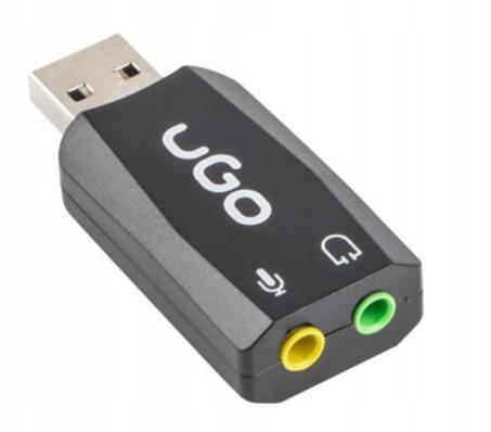 Купить ЗВУКОВАЯ КАРТА UGO UKD-1085 VIRTUAL 5.1 USB на Otpravka - цены и фото - доставка из Польши и стран Европы в Украину.