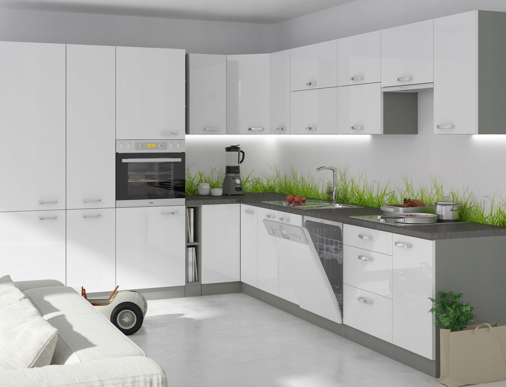 Kuchnia meble kuchenne modułowe IGA MDF POŁYSK