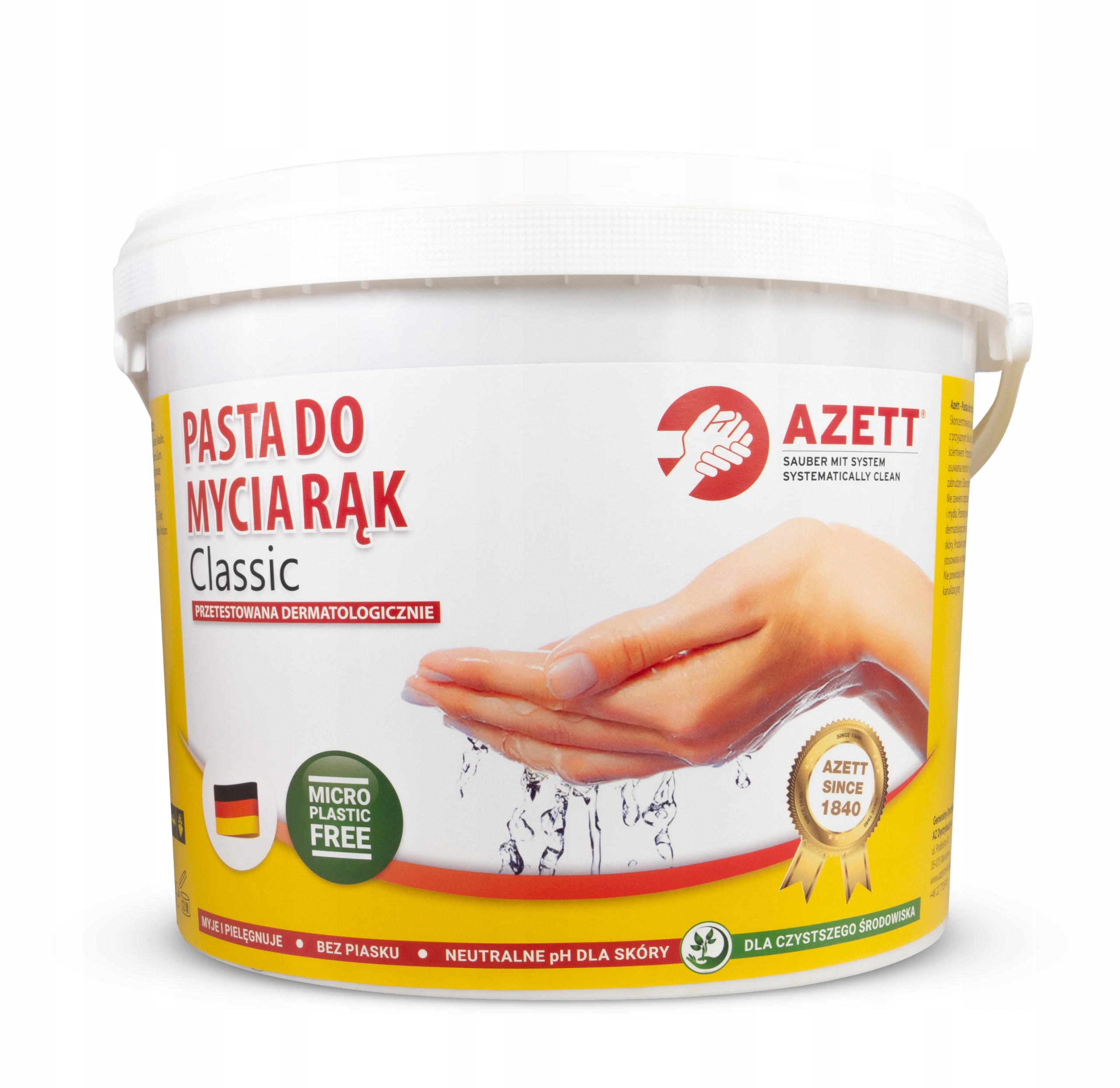 Pasta BHP do mycia rąk - AZETT CLASSIC 10L