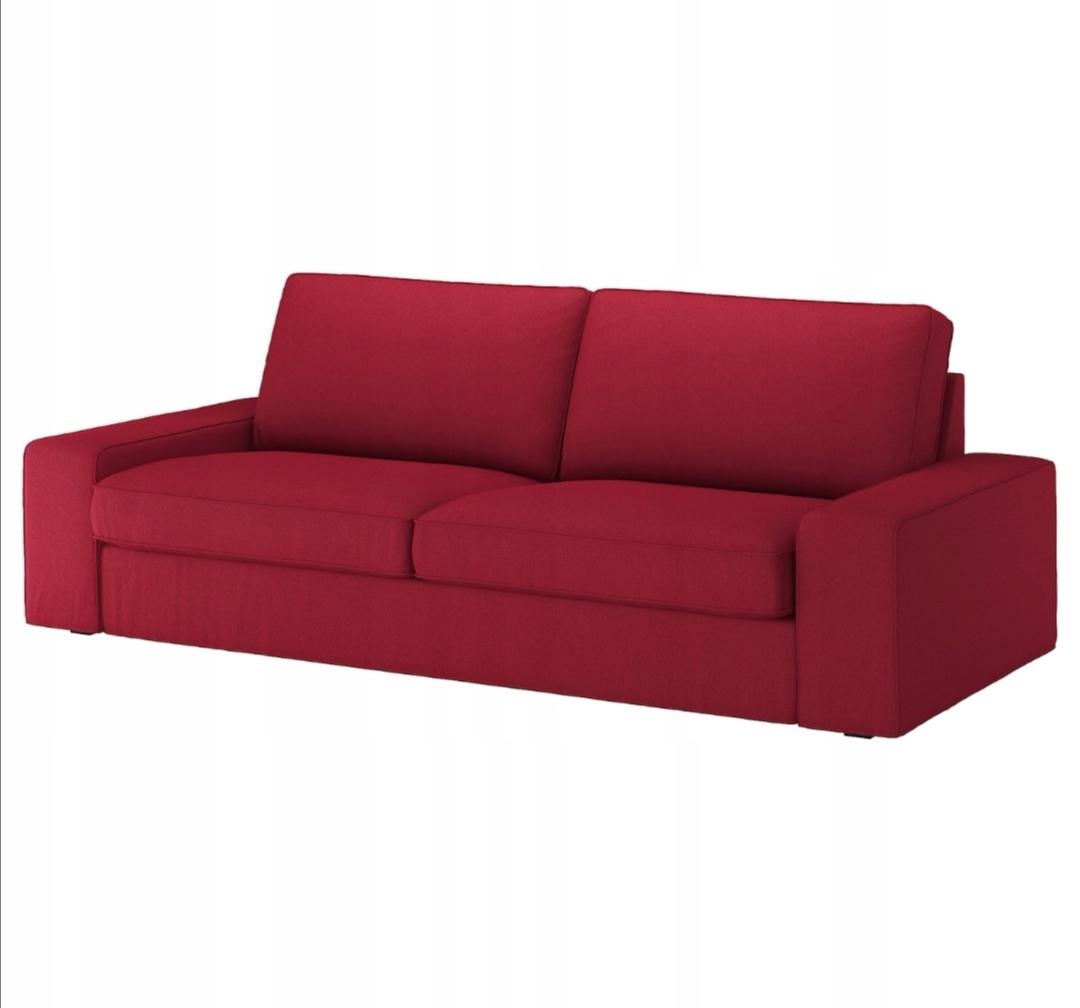 KIVIK Pokrycie sofy 3-osobowej, Orrsta czerwony
