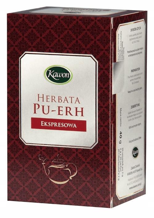 ПУ-ЭР экспресс чай 20 * 2г КОФЕ