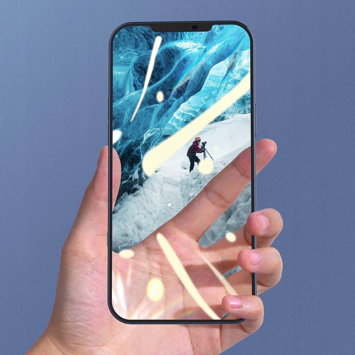 Baseus Szkło hartowane do iPhone 12 / 12 Pro 6.1 Rodzaj szkło hartowane