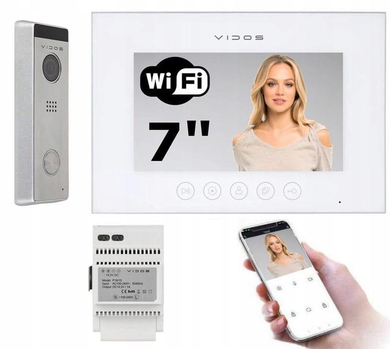Wideodomofon zestaw IP Vidos X WiFi M11W-X S10