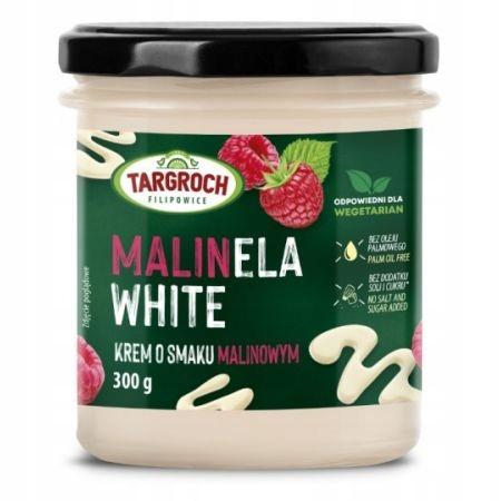 Белая паста Крем со вкусом малины, Малинела 300 г