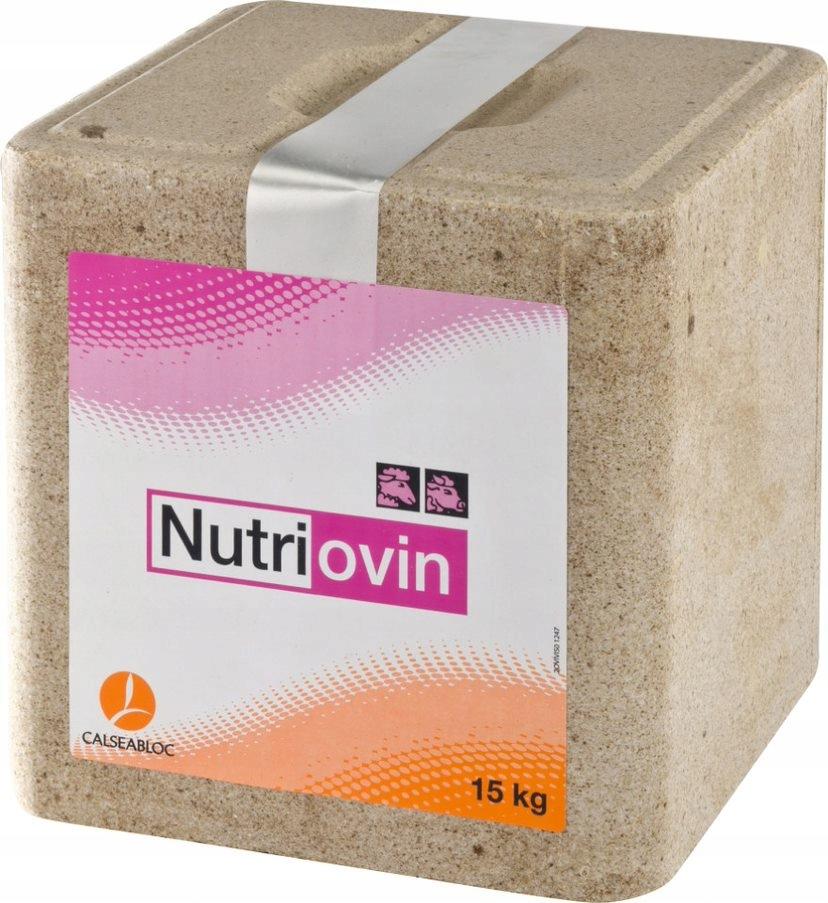 Lizawka Mineralna NUTRIOVIN dla owiec i kóz 15 kg