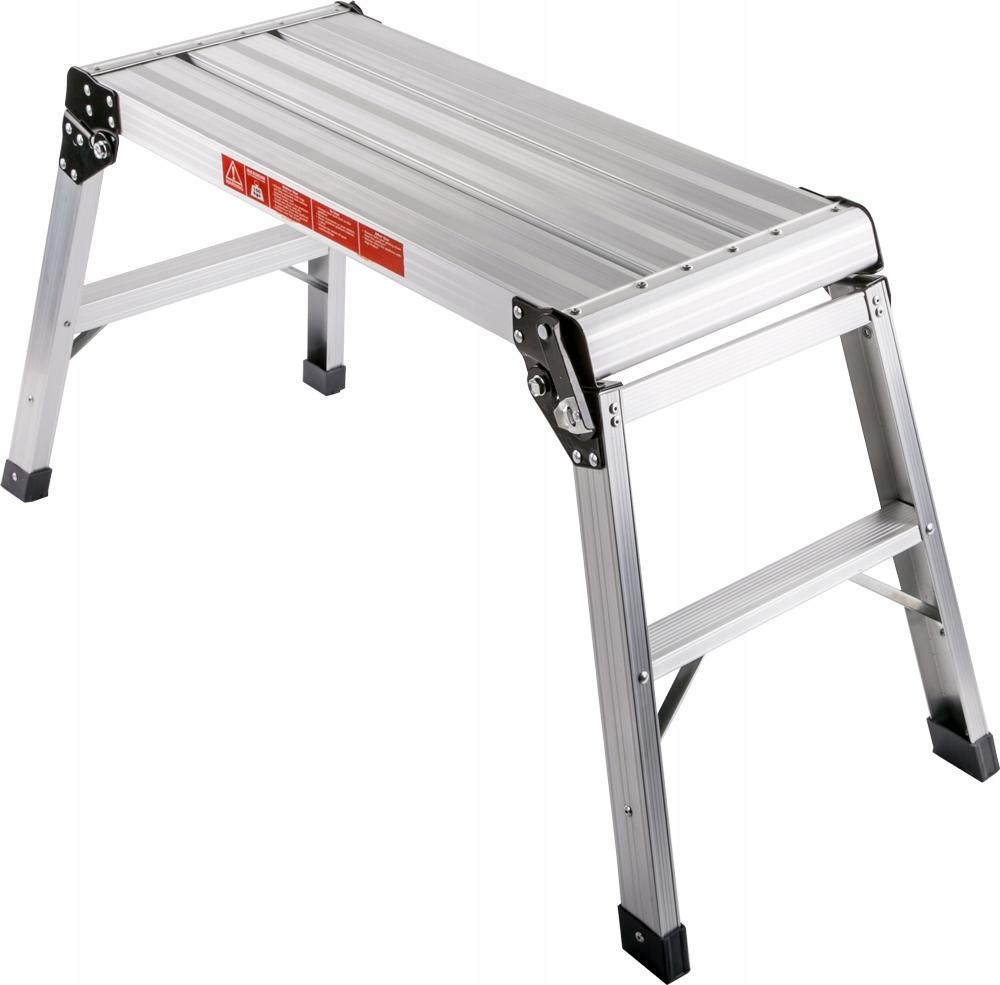 Podest roboczy aluminiowy taboret rusztowanie 2,5m