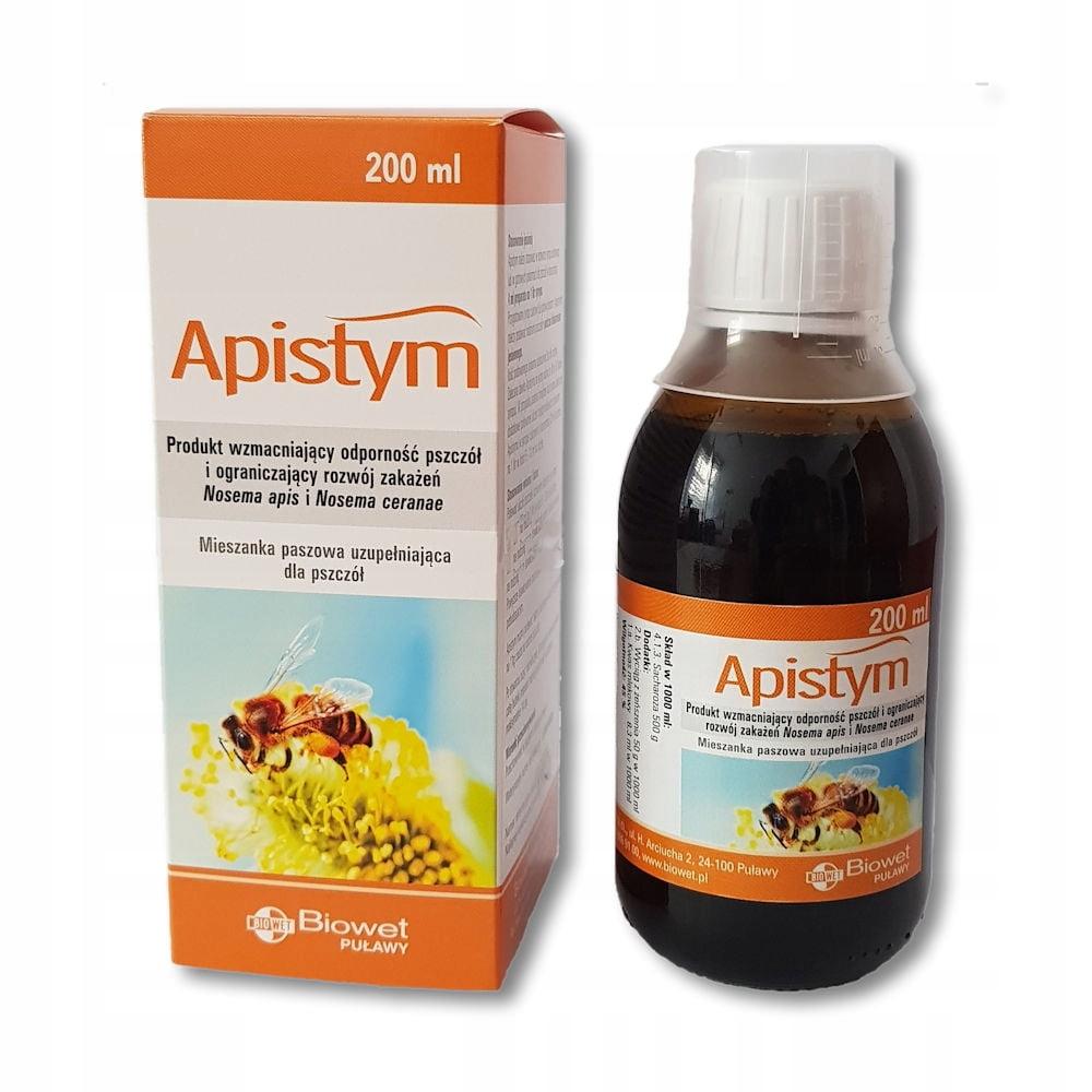 Apistym - Stymulacja i wzmocnienie rozwoju pszczół
