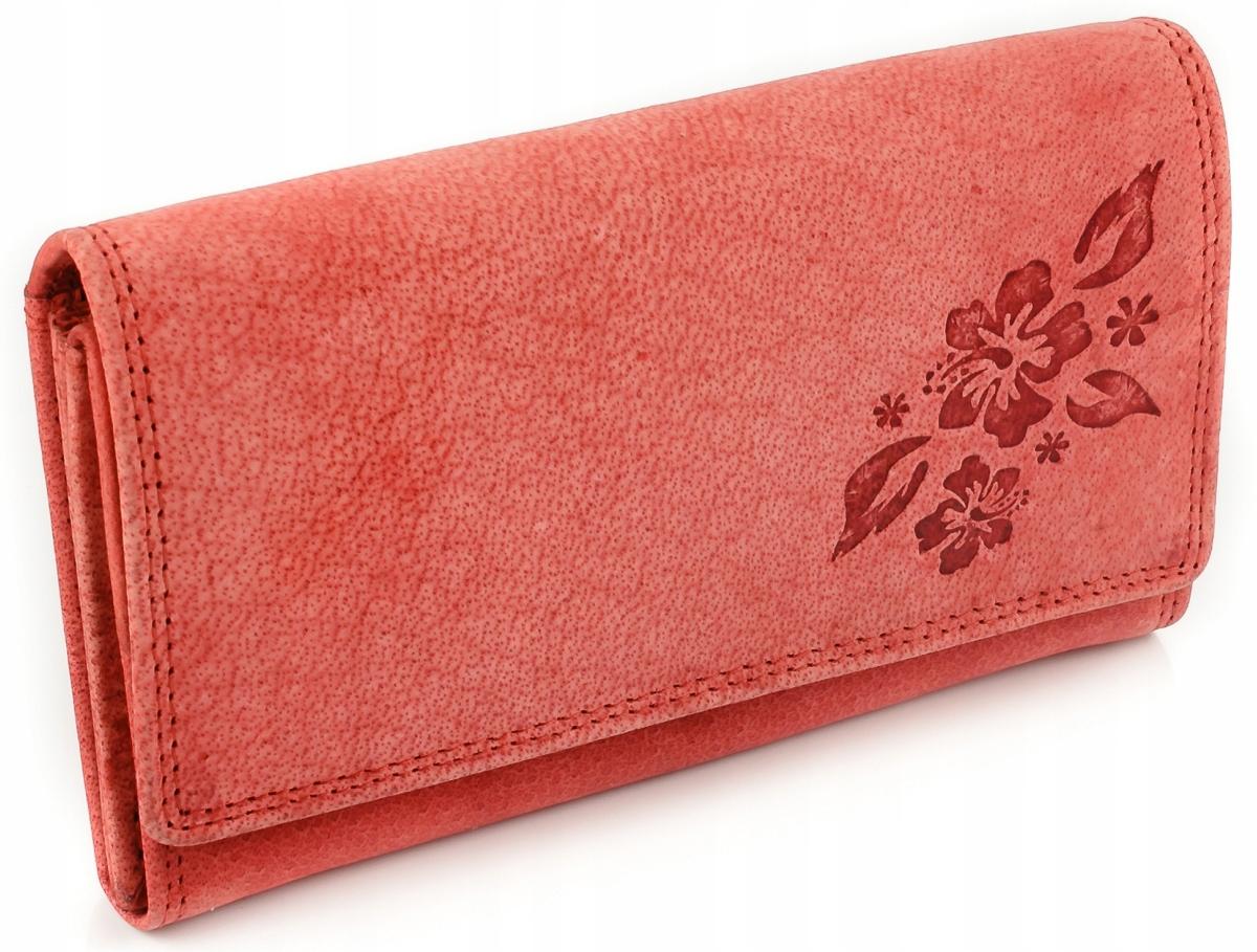 Dámska peňaženka z buvolia koža Wild Wild retro ružová