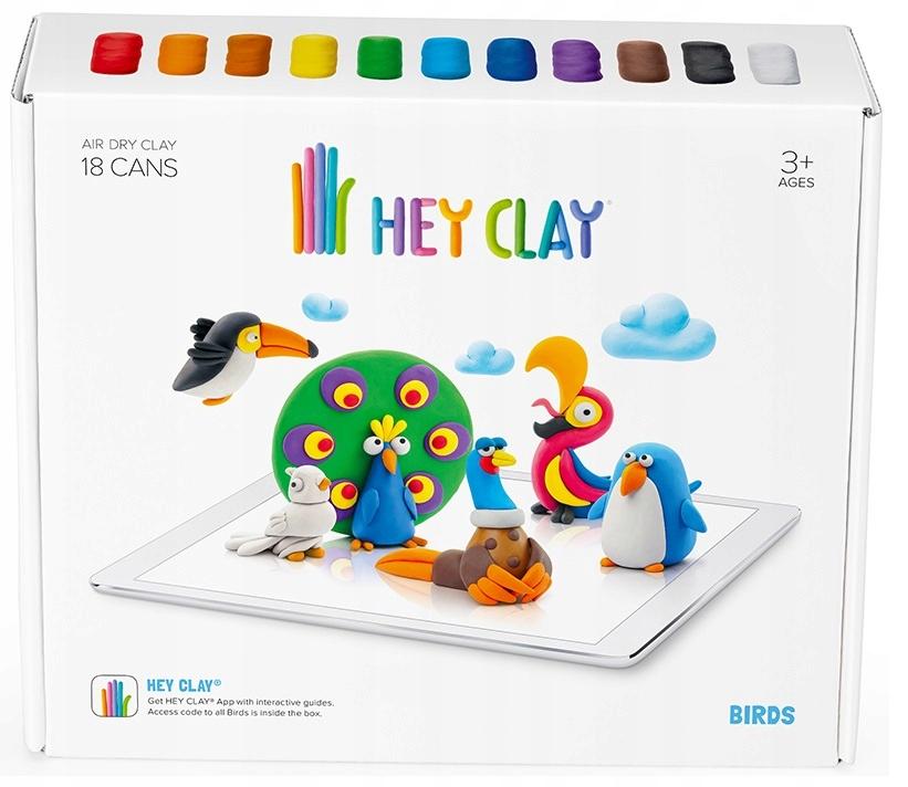 HEY CLAY SE003 MASA PLASTYCZNA - PTAKI
