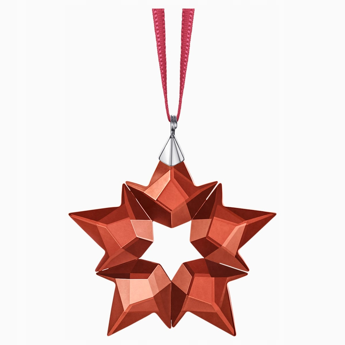 SWAROVSKI - dekorácia červená Malá hviezdička
