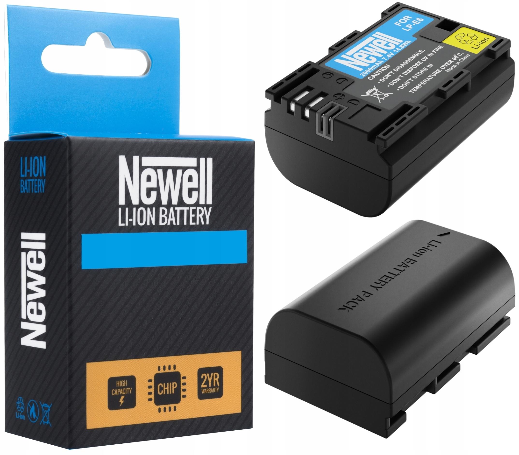 Bateria LP-E6 n do Canon EOS 6D Mark II 7D 60D mk2