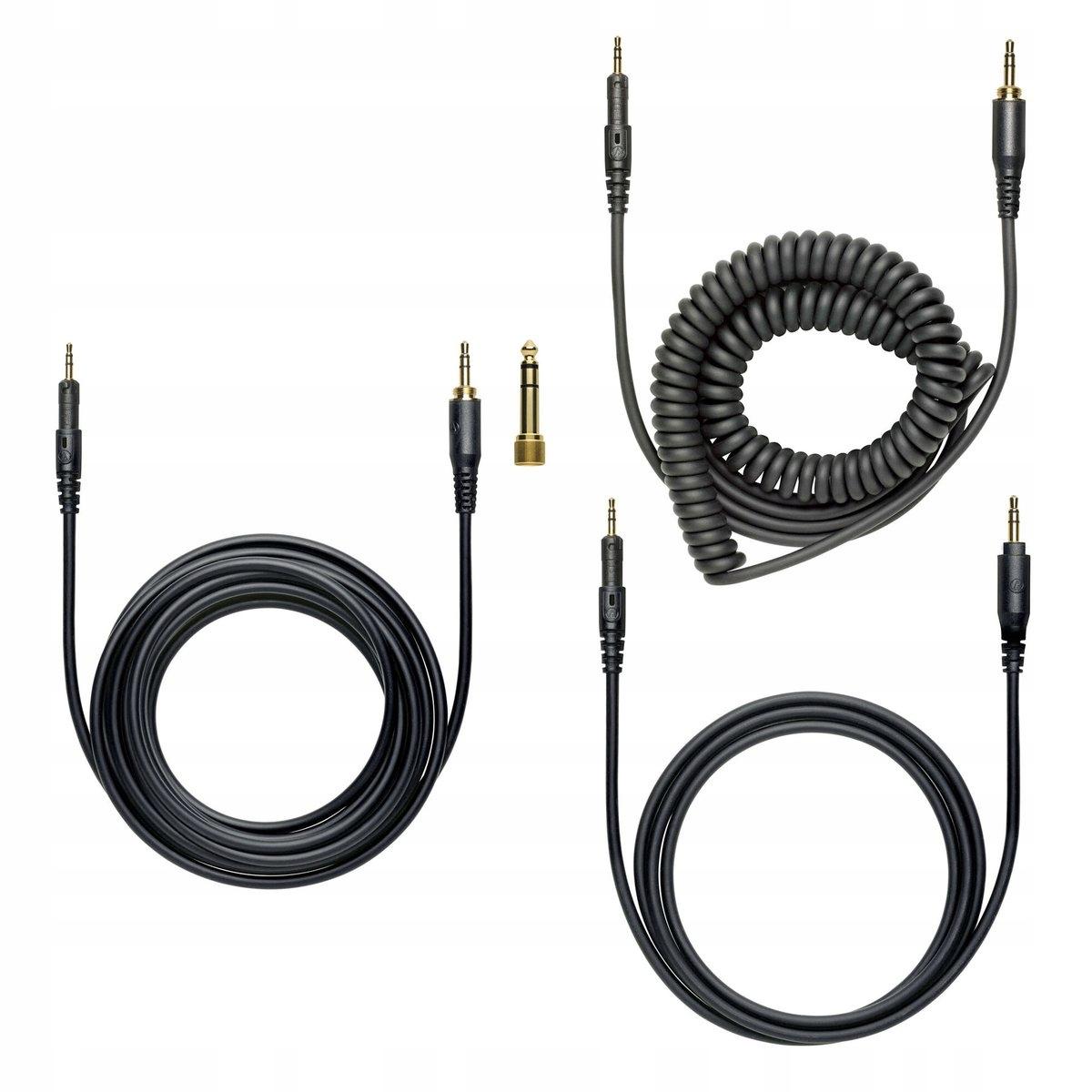 AUDIO-TECHNICA ATH-M50X Słuchawki zamknięte + AKC Materiał tworzywo sztuczne