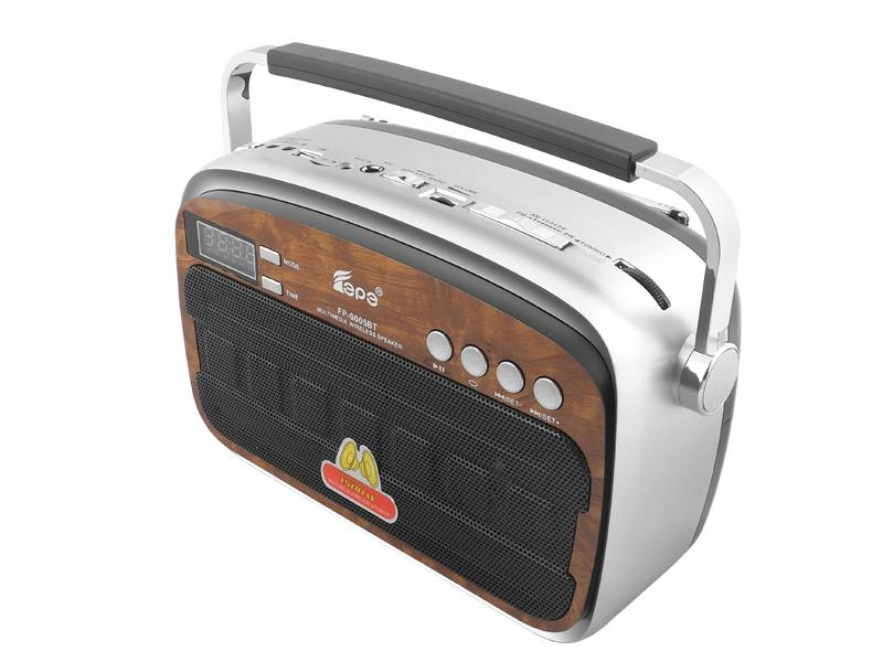 RETRO BLUETOOTH prenosné rádio, USB, miniUSB,