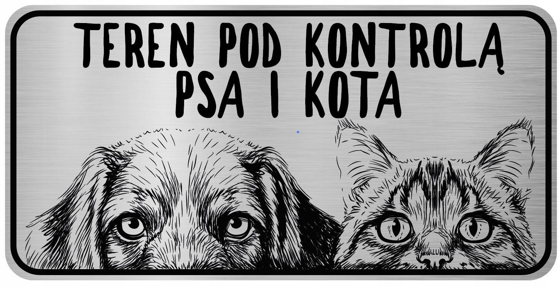 Осторожно Пластина из нержавеющей стали для собак и кошек