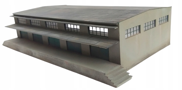 H0 - Magazyn budynek model 1:87