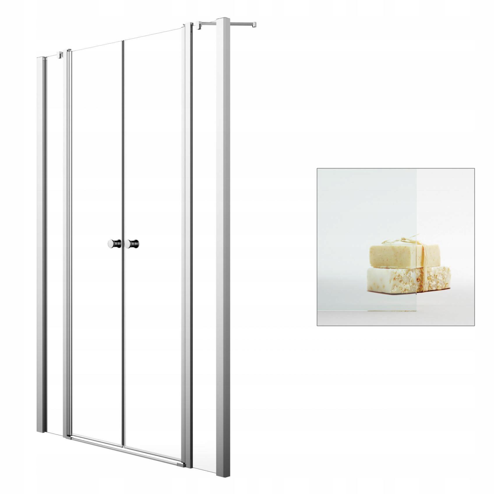 Sprchové dvere Eos II DWD 160 - priehľadné