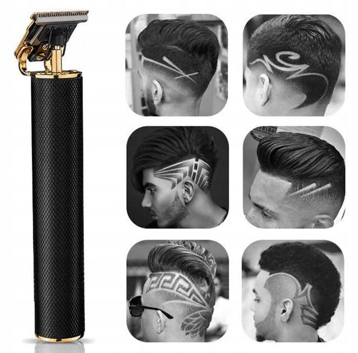 Čierny retro zastrihávač vlasov