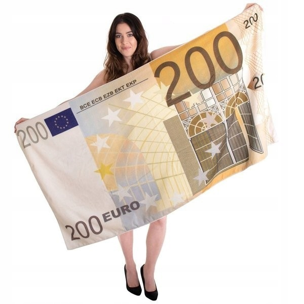 Funny Uterák bankovky 200 Euro darčeky