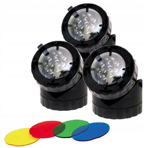 REFLEKTOR LED POTRÓJNY 3 x 1,6W oświetlenie oczka