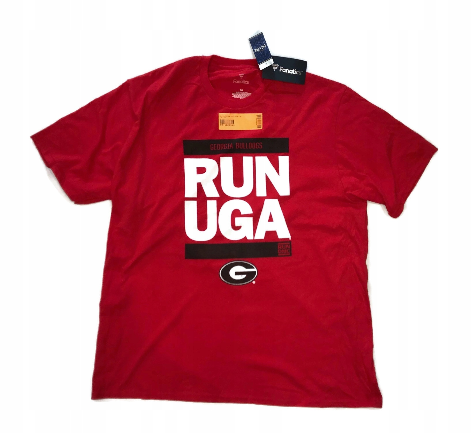 Koszulka T-shirt Georgia Bulldogs Run Uga NCAA XXL