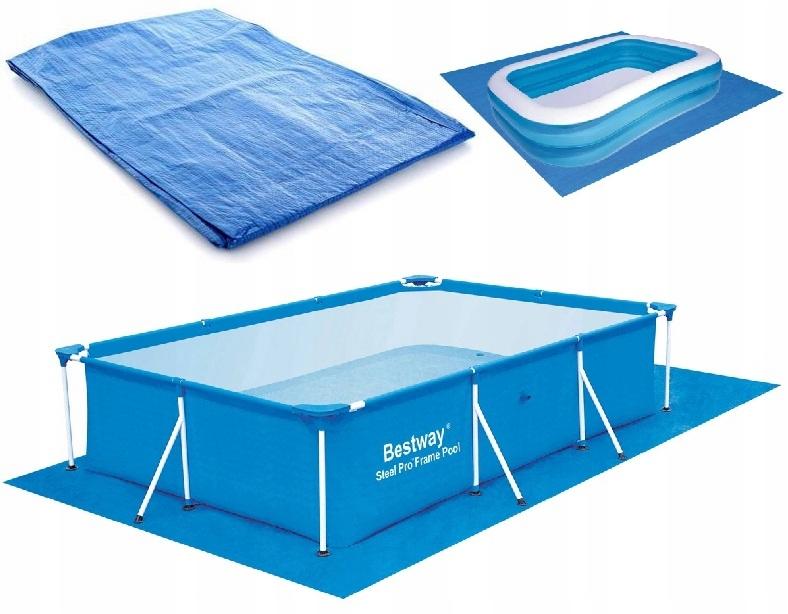 Коврик под бассейн 300x200cm для бассейнов Bestway INTEX