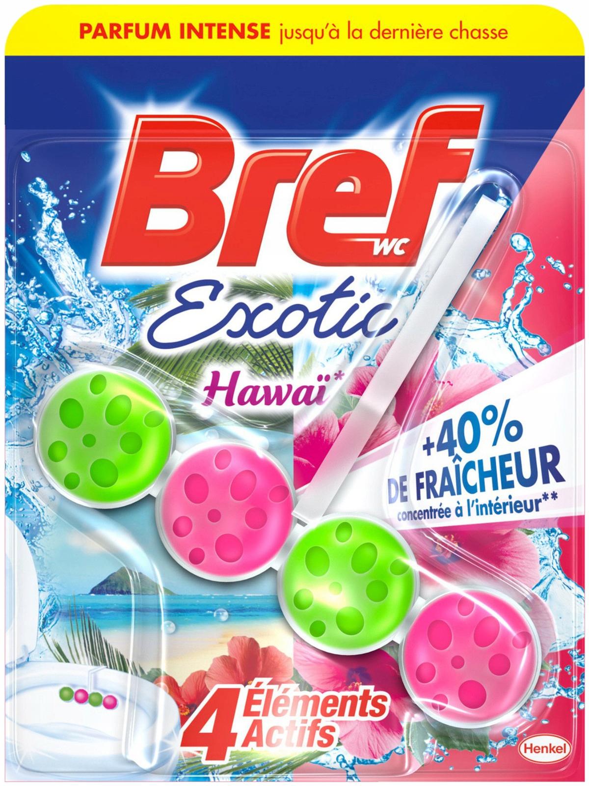 Bref Exotic Гавайи Кулон Шарики для Унитаза 50г FR